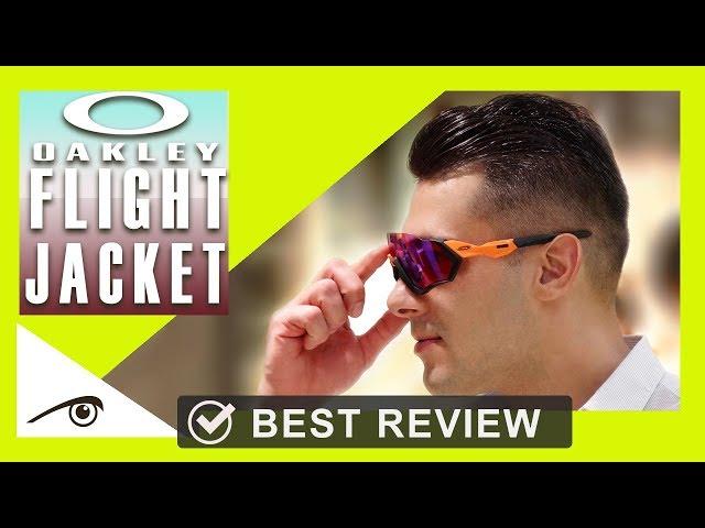 91e213914e1 Oakley Flight Jacket Best Review cycling Sunglasses oakley prizm menstyle  occhiali