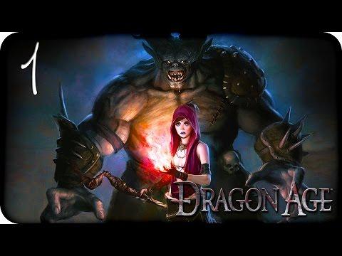 Девичье прохождение Dragon Age: Origins ♦Прохождение за лучника♦ #1