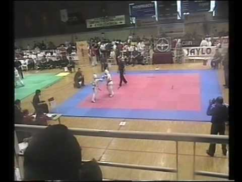 campeonato nacional kyokushinkay en tudela ,benjamin FINAL
