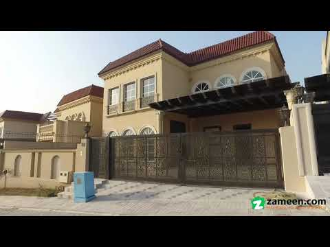 • 1 KANAL SPANISH DESIGN VILLA FOR SALE IN SECTOR J PHASE 2 DHA ISLAMABAD