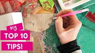Top 10 Tips for Diamond Painting