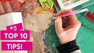 Top 10 Tipps für Diamant-Malerei