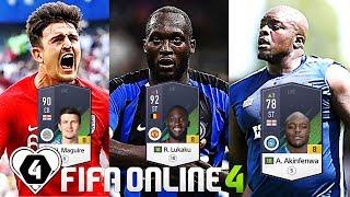 """FIFA ONLINE 4: BUILD & TEST DÀN TEAM """" THỂ HÌNH TO ĐEN +8 """" ĐỘC NHẤT VÔ NHỊ - KingMenSport.vn"""