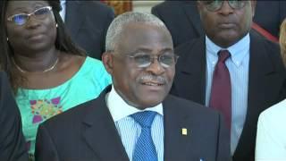 Audience du président du FIDA M. Kanayo F. NWANZE avec le Président de la république Mr Macky SALL