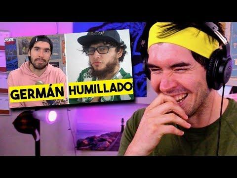 5 YOUTUBERS HUMILLADOS POR JUEGAGERMAN     (mi reacción)