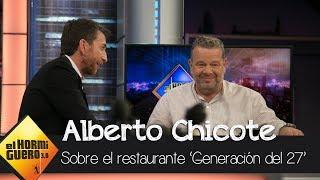 Chicote explica la oportunidad que decidió dar al dueño de 'Generación del 27' - El Hormiguero 3.0