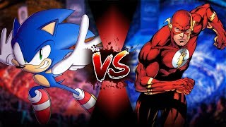 Sonic The Hedgehog Vs The Flash | Sprite Battle