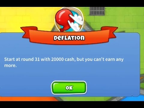 How I Made It To Round 100+ in Deflation Mode | Bloons TD 6