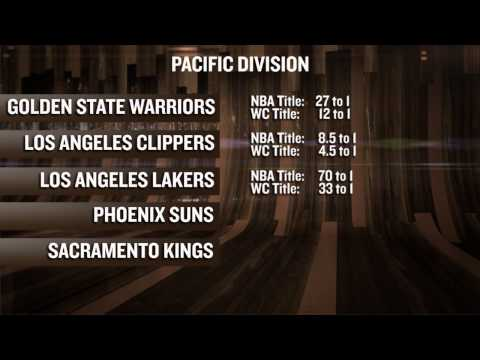 Pacific Division Preview And Futures Odds