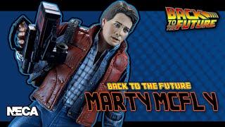 NECA Toys Back to the Future Marty McFly Figure | Video Review смотреть онлайн в хорошем качестве бесплатно - VIDEOOO