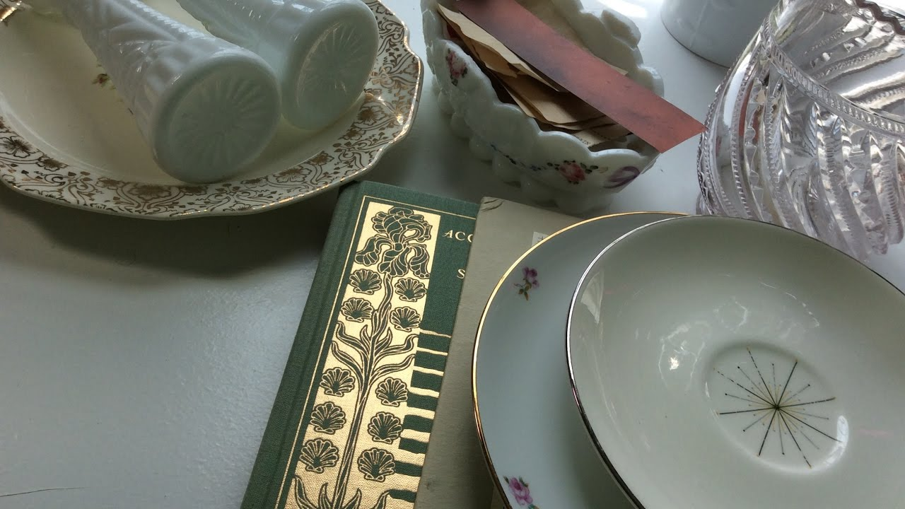 Shabby Chic Thrift store HAUL & Junk Journal Organizing Tips