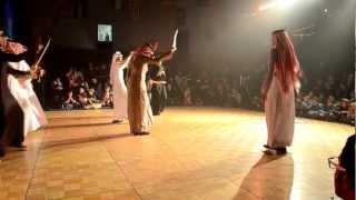 العرضه الجنوبيه في كاملوبس . Saudi Traditional Dance Kamloops - Canada