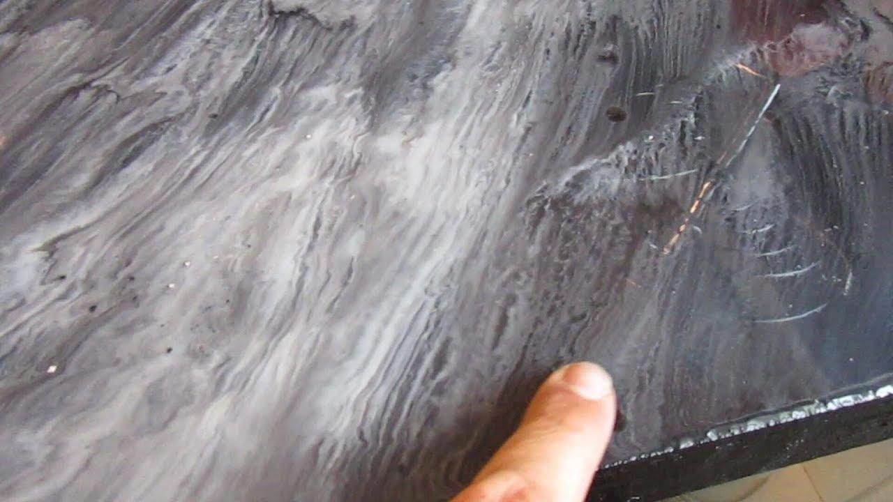 Küchenarbeitsplatte selber machen - Epoxi Resin - Bauanleitung deutsch