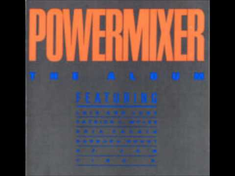 "POWER MIXER ""THE ALBUM"" (Varios Artistas) - 1988"