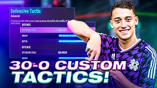 MY FIFA 21 30-0 PRO CUSTOM TACTICS + PLAYER INSTRUCTIONS I USE IN WEEKEND LEAGUE!