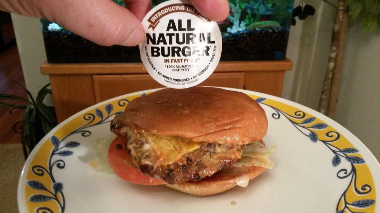 Carl S Jr All Natural Burger Review