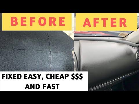 Mazda Rx8 Passenger Air Bag Cover - Broken Dashboard Repair - Cover