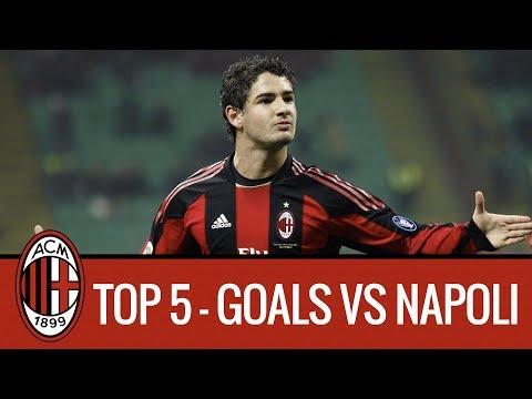 AC Milan Top 5 Goals vs Napoli
