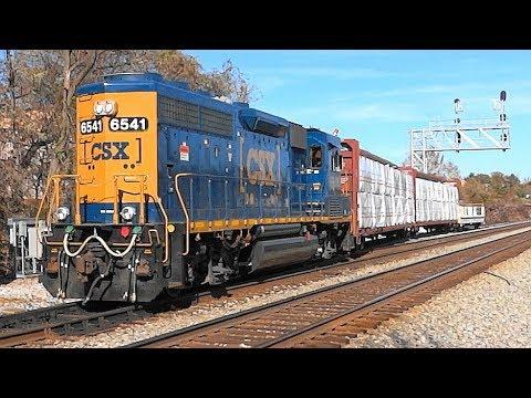 Some Trains & Planes Around Dorsey Station, Maryland