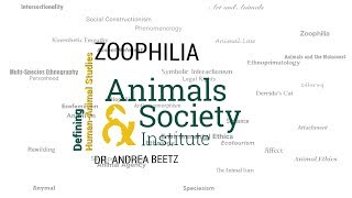 Defining Zoophilia with Andrea Beetz - ASI's Defining Human-Animal Studies 13