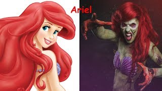 Disney Princesses As VAMPIRE ZOMBIES | Disney Princesses As Monsters 2017