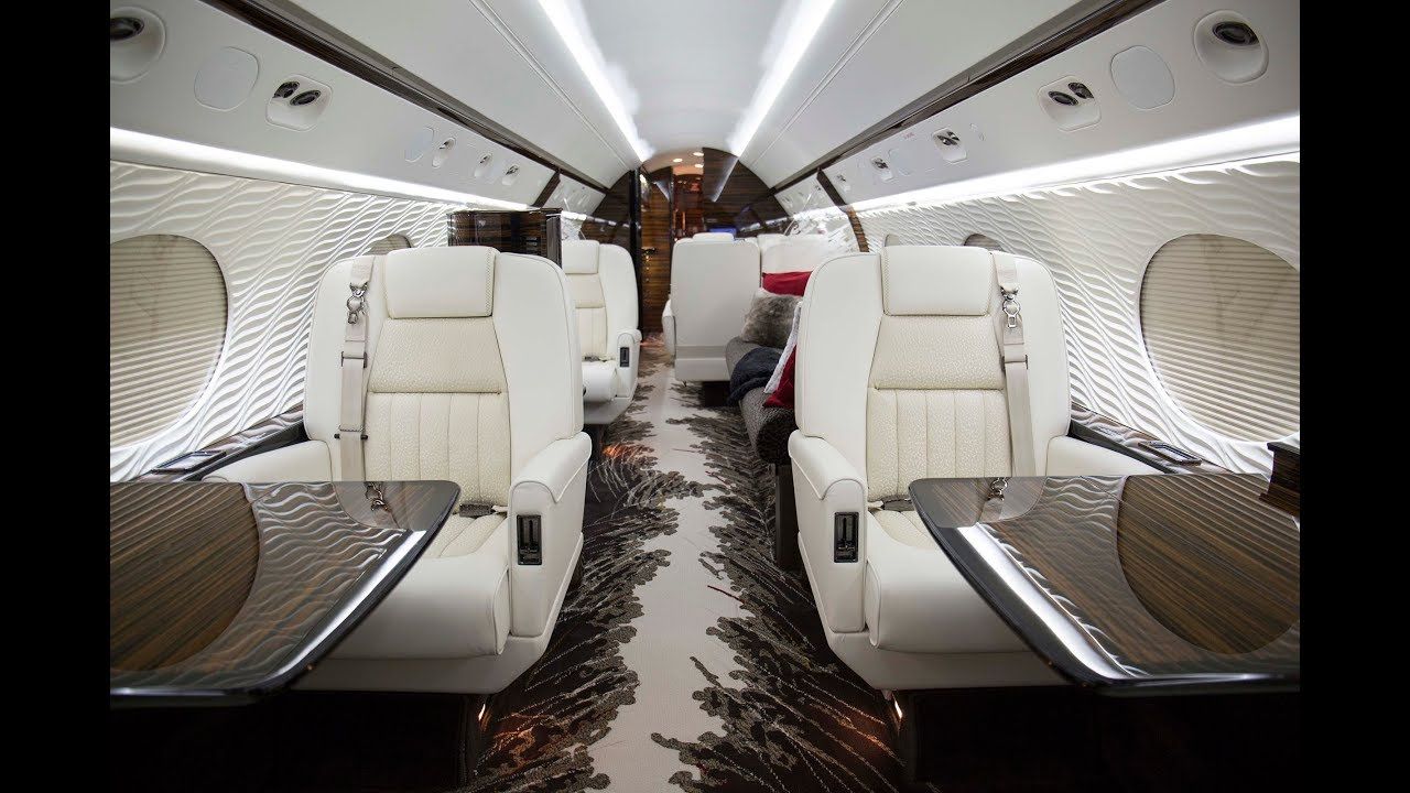 Cosmos Gulfstream V Aircraft Interior Refurbishment Youtube