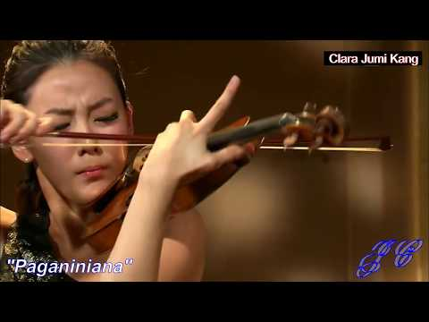 "Perfect Violin Number 1 - ""Paganiniana""  Clara Jumi Kang ... The Violin Goddess !"