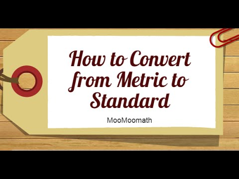 Metric To Standard >> How To Convert Metric To Us Standard Length Centimeters Kilometers Inches