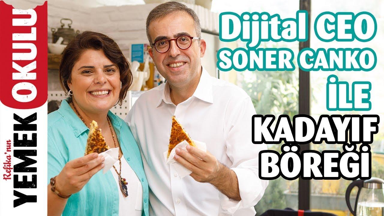 Dijital CEO Soner Canko ile 5 Maddede CEO Olmak | Kıymalı, Dil Peynirli Kadayıf Böreği Tarifi