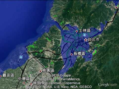 Taiwan Sea Level Rise To 70 Meters