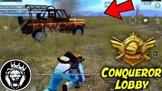 Conqueror Lobby Season 10 Pubg Mobile / Star Anonymous / Pubg Mobile