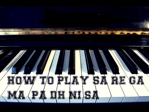 How to play sa re ga ma pa on mobile Casio easy to play for everyone