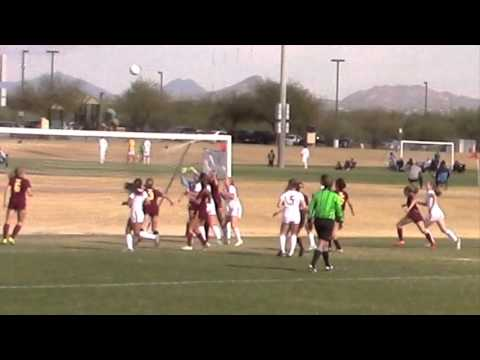 151228 Claire Dworsky #20 SI v  Mountain Pointe Soccer