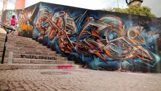 SOFLES x MISTER x NOMEN x BRAY - Lissabon Graffiti