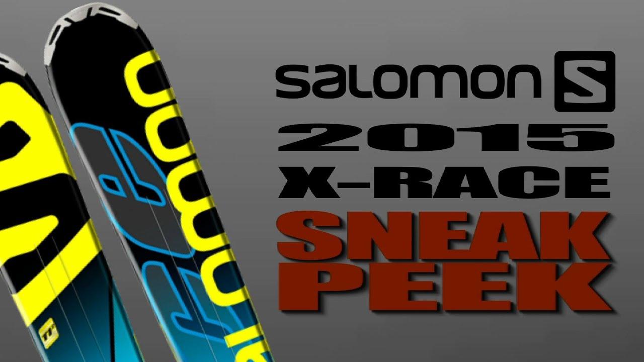 Educación escolar niebla tóxica Gracioso  2015 Salomon X-Race Performance Ski - YouTube