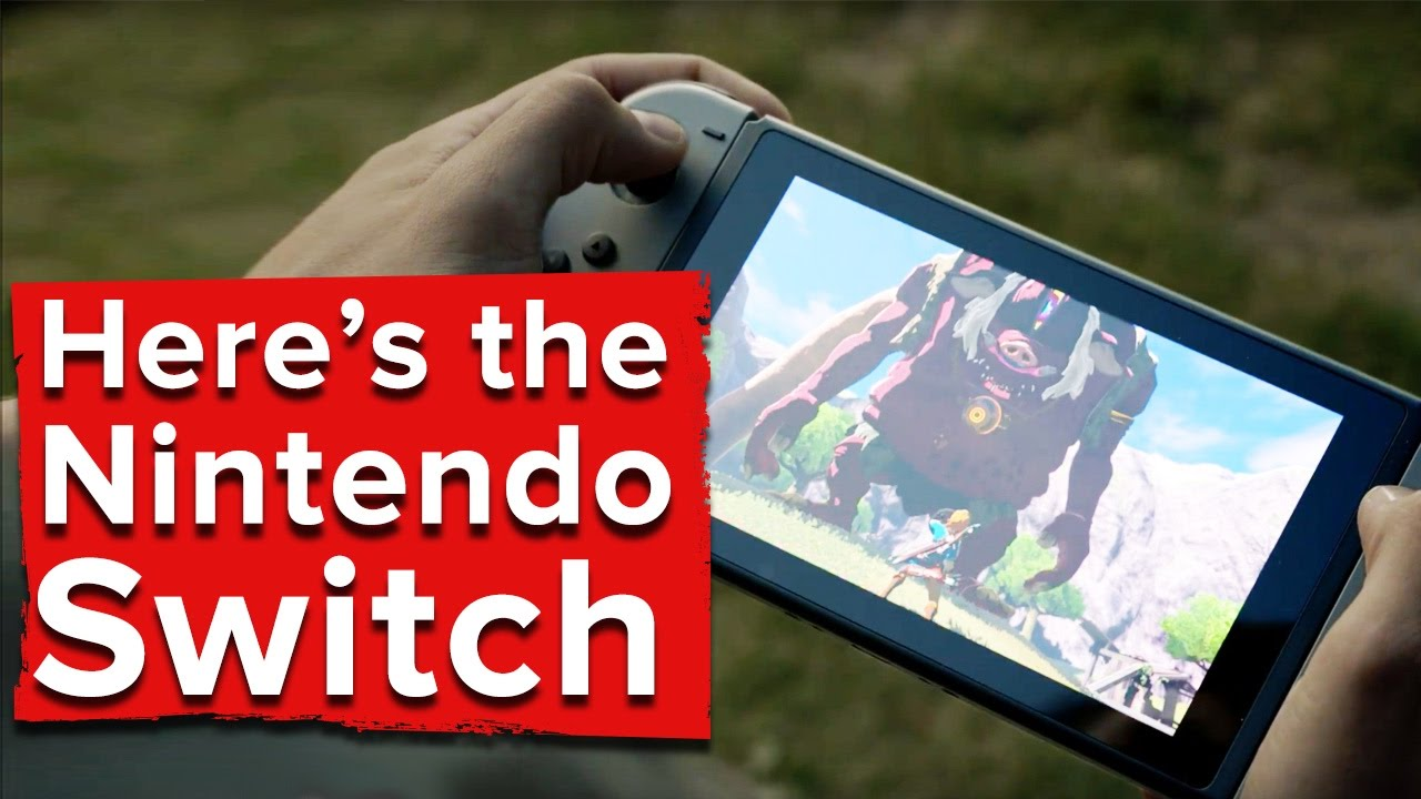 NX is now Nintendo Switch, a portable console with