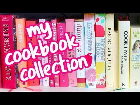 Cookbook Tour! My Cookbook Collection   Pankobunny