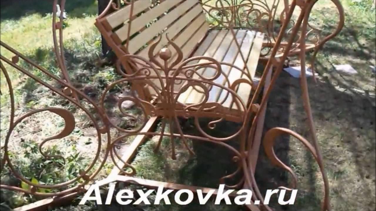 Садовая мебель из ротанга купить - YouTube