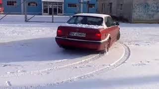 BMW e36 Snow drift