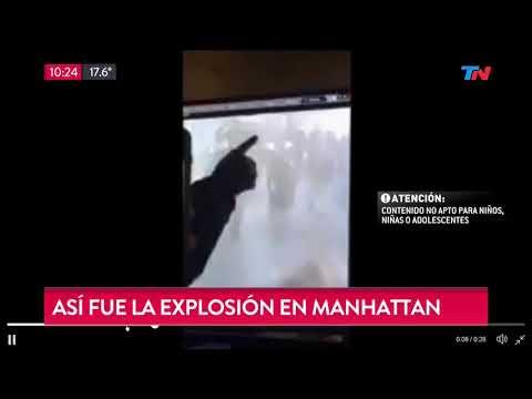 Así fue la explosión en Manhattan