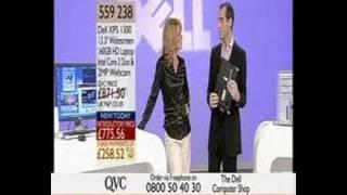 Claire Sutton Hot Blonde Saleslady Black Satin Blo