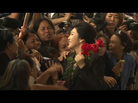 Ousted PM Yingluck in court for closing statment
