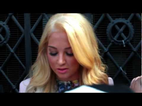 Tulisa Contostavlos Statement Outside The Royal Courts Of Justice