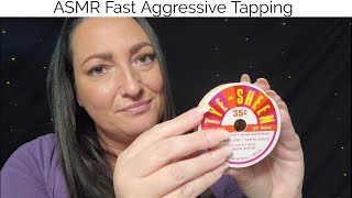 ASMR Fast Aggressive Tapping
