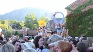 You Know: Chi Omega CU Boulder Bid Day 2013