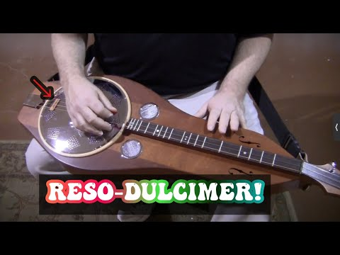 Folkcraft Instruments mountain dulcimer demonstration, serial number 20151628