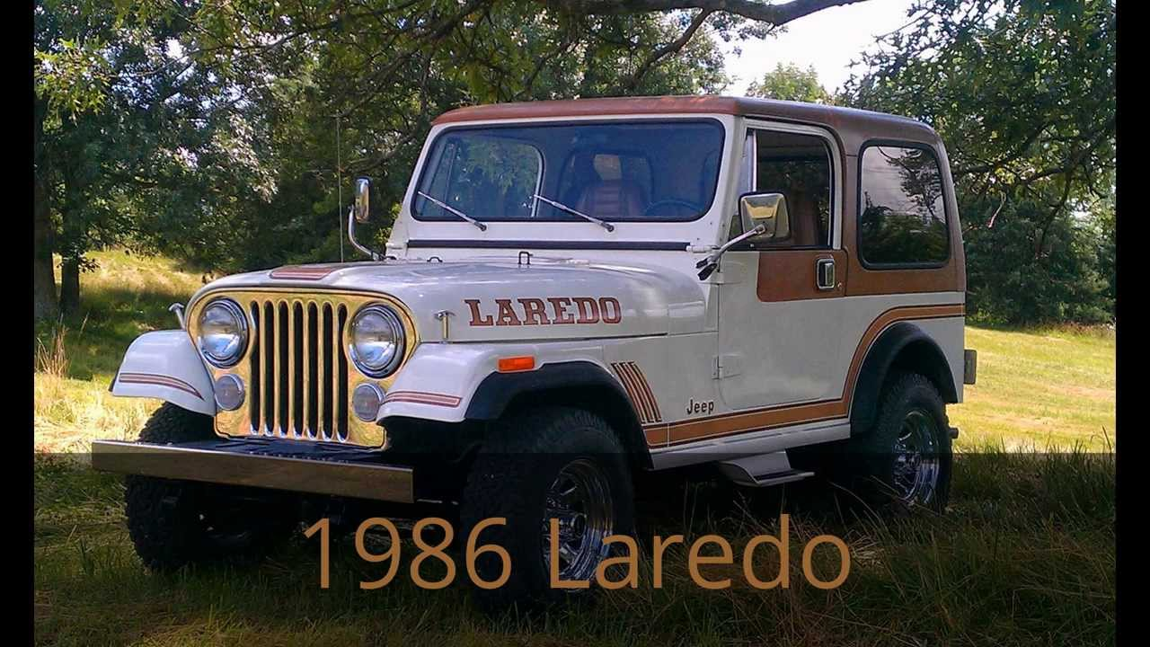 Jeep Wrangler Renegade >> AMC/Jeep CJ 5 CJ 7 Renegade Laredo Levi For Sale - YouTube