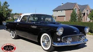 1956 Ford Thunderbird Test Drive Classic Muscle Car for Sale in MI Vanguard Motor Sales