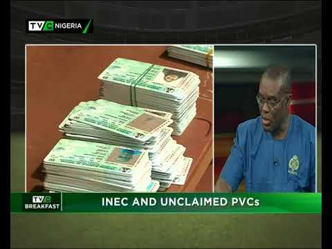 TVC Breakfast 13th April 2018 | INEC and Unclaimed PVCs