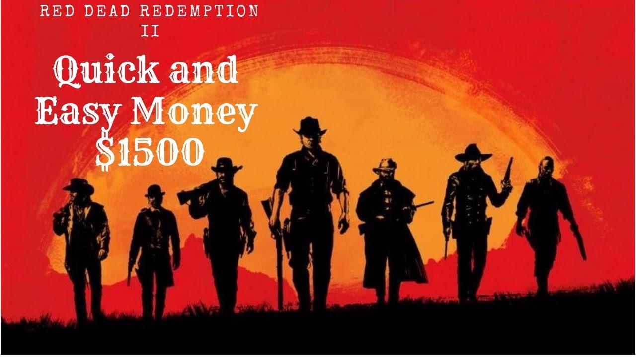 red dead redemption 2 quick money